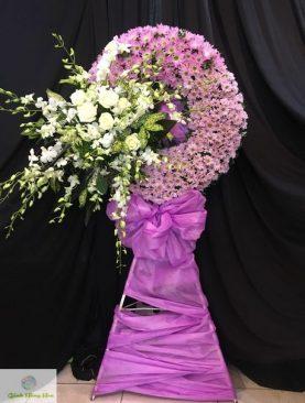 Vòng hoa Kính Viếng Chia Buồn