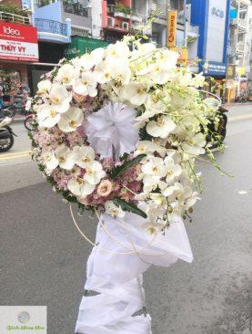 Vòng hoa đám tang Vĩnh Hằng