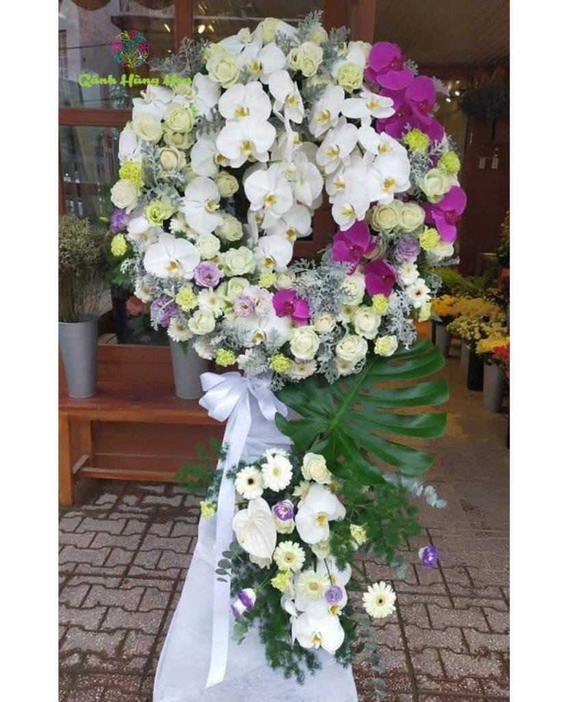 hình ảnh hoa tang lễ kiểu dáng lịch sự