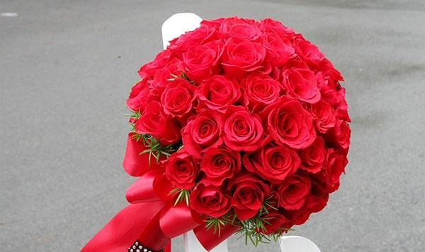 tặng hoa hồng đỏ