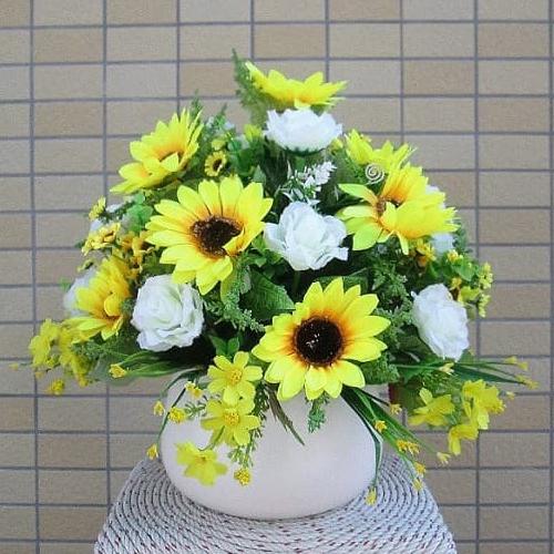 Cách Cắm Hoa Hướng Dương  Đơn giản Đẹp Như Đặt Tiệm