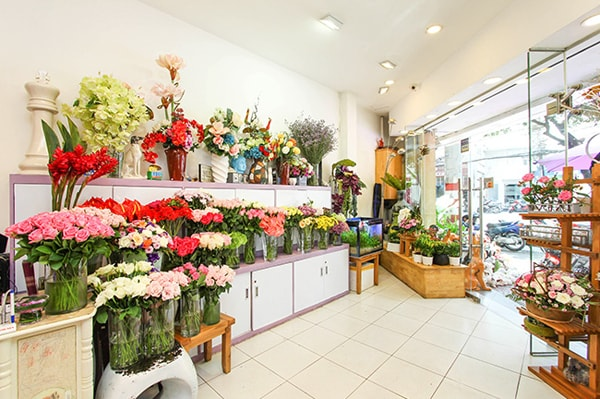 kinh doanh online hoa tuoi