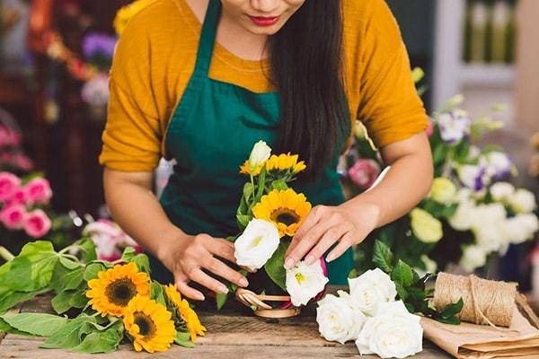 bí quyết thành công mở kinh doanh hoa online