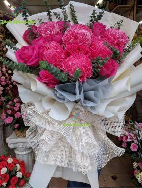 [HOT] Hoa Tặng Mẹ (mẫu đơn xanh hồng)