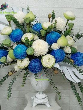 Hoa Mẫu Đơn 8 Bông Cực Phẩm